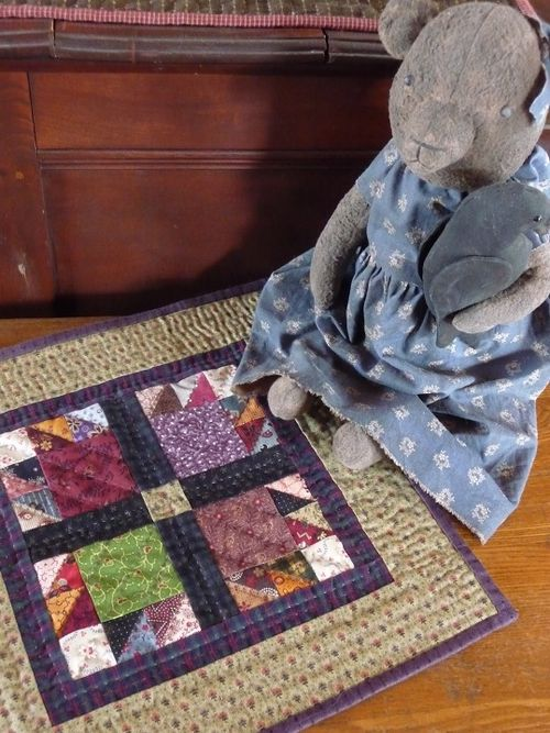 Mini Bear's Paw Quilt