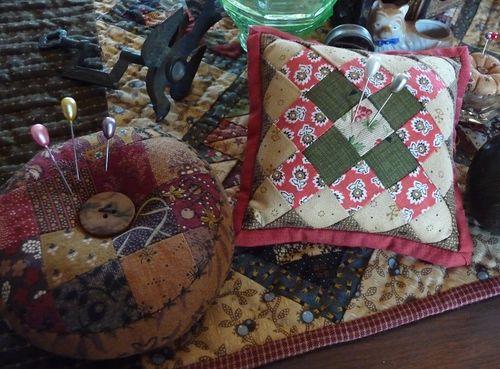 Pincushions from Bronwyn & Donna