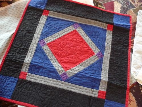 My Amish quilt made by Ann