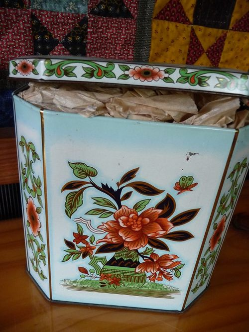 Goodies in a tin for Bronwyn