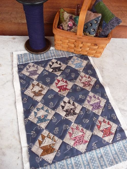 Mini basket quilt