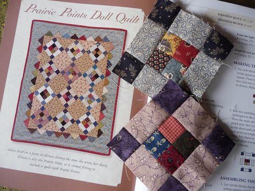 April's SQT challenge quilt