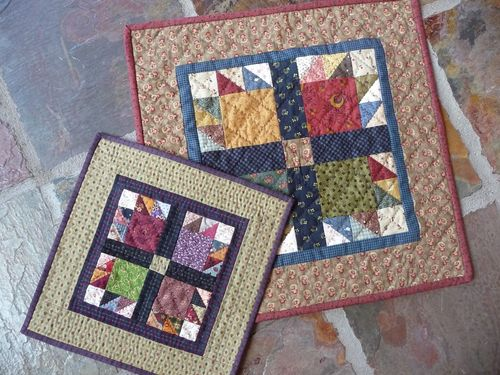 Momma & Baby Bear's Paw Quilt