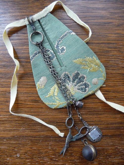 Justine's pocket & chatelaine