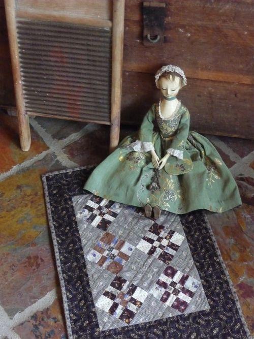 Justine & her quilt
