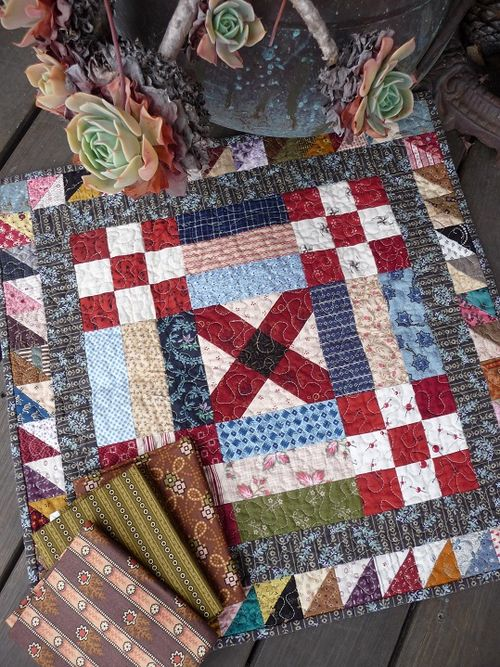 Doll quilt from DarLynn