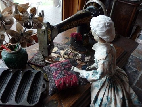 Intrigued with the old treadle