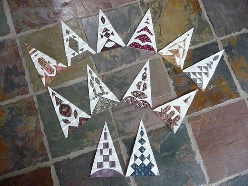 12 finished triangles Feb2016