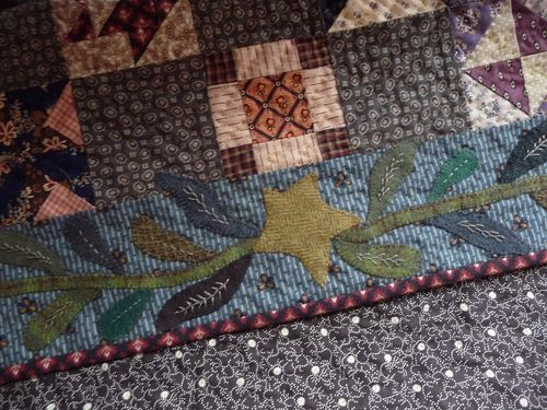 Wool applique ~ bottom border (1)