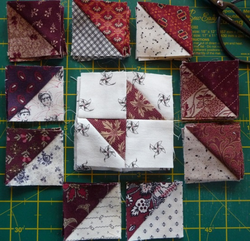 Quilters madder step 2&3