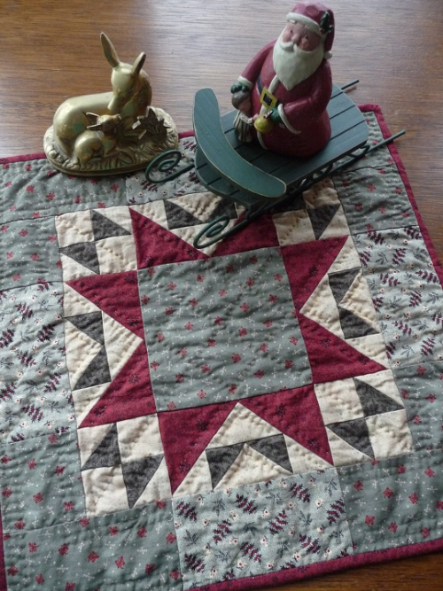 Christmas Star Quilt (1)