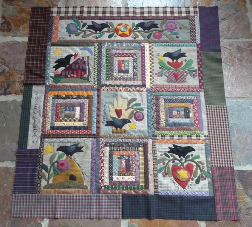 A Blackbird Gathering - finshed top