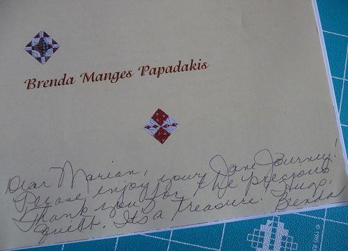 Brenda's signature