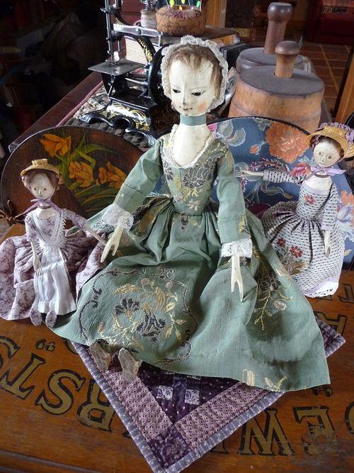Justine meets Miss Tansy & Pin'elope Pincushion