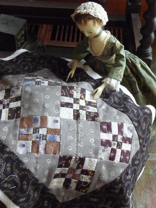 Justine loves antique quilts