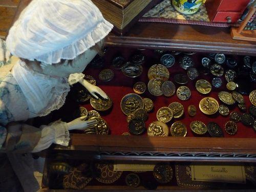 Charlotte loves vintage buttons