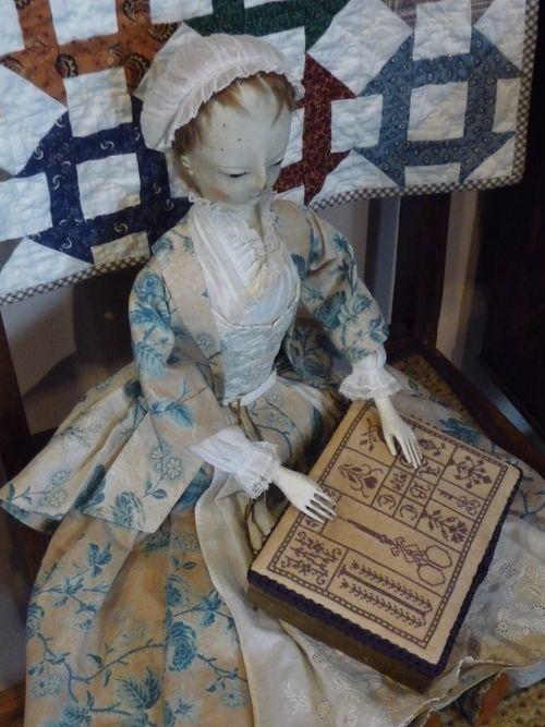 A precious sewing box