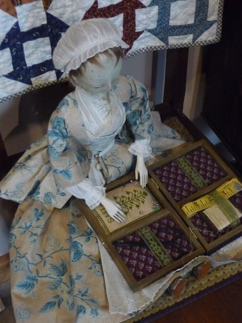 Inside the sewing box