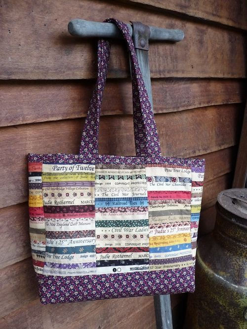 A finished tote