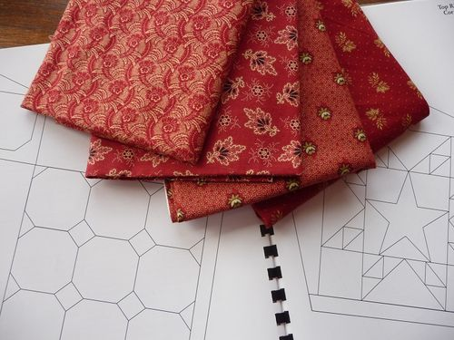 Fabrics for corner blocks