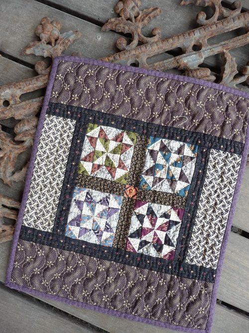Pinwheel Star quilt