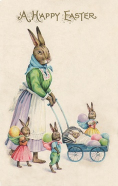 Vintage Easter Blessings