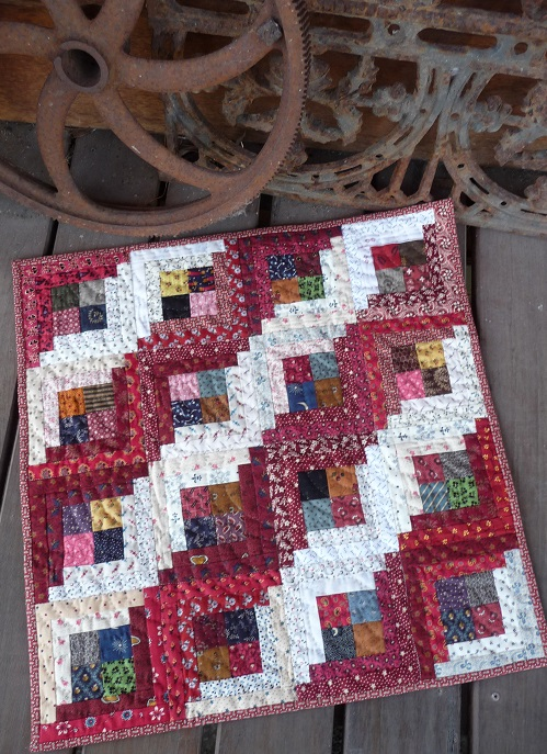 Swap quilt from Karen Dever