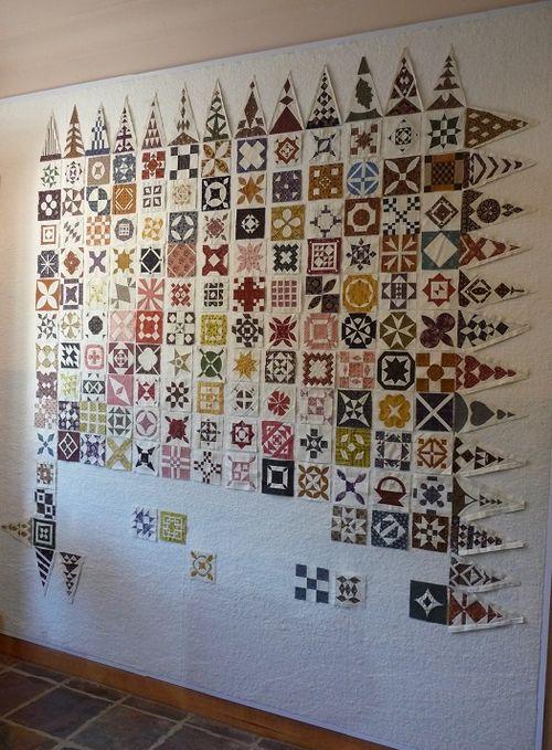 Dear Jane design wall