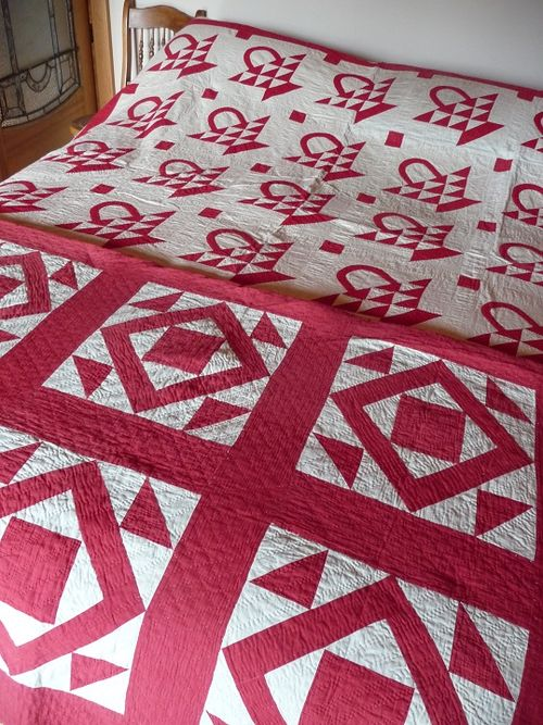 Antique R&W quilts