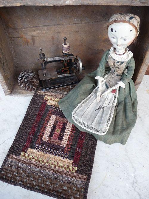 Maribel & her quilt