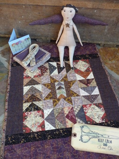 Quilt & goodies from Candee