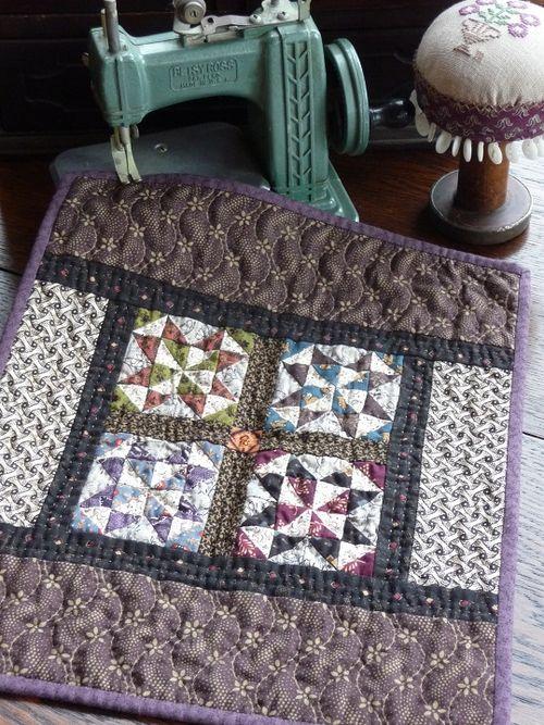 Pinwheel Star quilt...