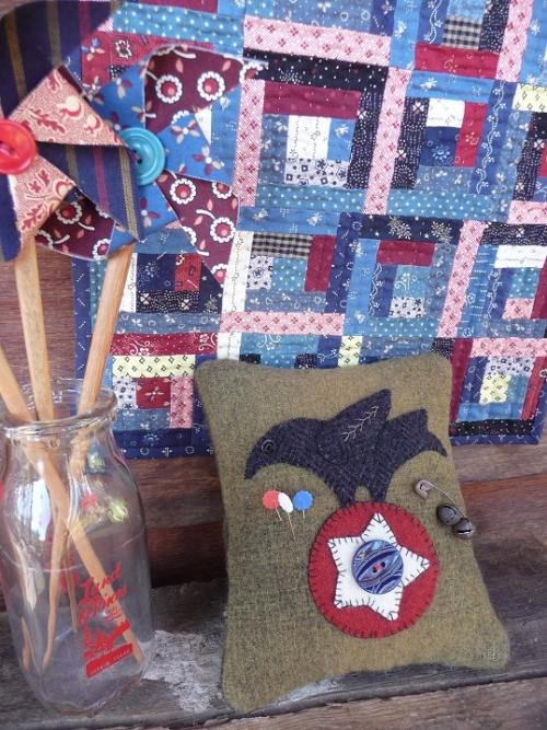 RWB Wool Pincushion